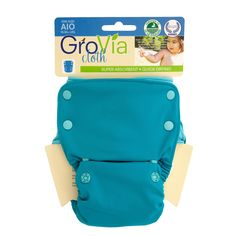 GroVia AIO cloth diapers are wonderful.  They aren't bulky like some others I've tried. Soft, absorbent, fit well.