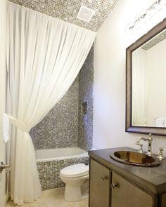 shower curtain drapery