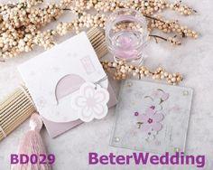 エレガントな桜の愛ガラスコースター Beter- bd029   http://ja.aliexpress.com/store/512567  Your Unique Bridal Shower Favor Ideas上海倍乐礼品 #結婚祝い #weddinggifts #gifts #工芸品 #結婚式 #婚礼 #嫁入り