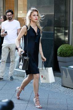 Street style at Berlin Fashion week [Photo: Matti Hillig]