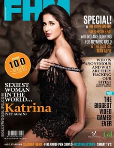 #KatrinaKaif is still the sexiest woman in the world :The Ek Tha Tiger seductress has been crowned the sexiest woman on the planet by popular men's magazine FHM. We bet you just can't take your eyes off this delicious cover