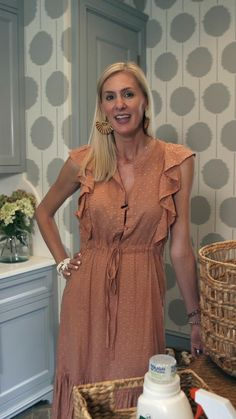 ASHLEY GILBREATH INTERIOR DESIGN: In this video, Ashley, in collaboration with Ballard Designs and Flower Magazine, shares organizational tips to make the most of your laundry room! Ashley Gilbreath, Laundry Room Organization, Ballard Designs, Clothes Horse, Home Projects, Georgia, Shirt Dress, Summer Dresses, Interior Design