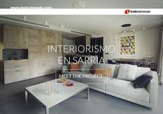 En el blog #Inalcotrends puedes conocer esta elegante vivienda en Sarrià (Barcelona) realizada por #Coblonal #Interiorismo con el #porcelánico #Domo de Inalco.  #arquitectura #estilo #contemporáneo