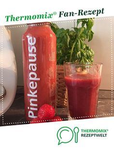Erdbeer-Rhabarber-Smoothie von AnnDee. Ein Thermomix ® Rezept aus der Kategorie Getränke auf www.rezeptwelt.de, der Thermomix ® Community.