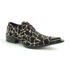 ad77e191ac39 Giraffe steel toe cap derby shoes for men in leather. These statement shoes  will wow