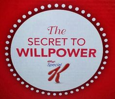The Secret to Will Power Kellogg's Canada giveaway.  Open to Canada. http://mommomonthego.com/kelloggs-the-secret-to-will-power/