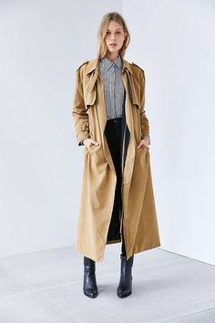 This updated take on a classic trench.
