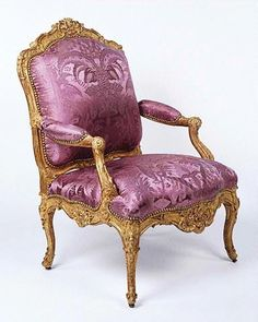 Rococo Chair  c.1750, France  -  From The Collection Of Getty Museum
