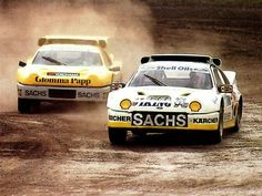 Ford rallycross cars during wrc race Le Mans, Happy Birthday Martin, Ferrari, Ford Motorsport, Ford Sierra, Amazing Cars, Awesome, Rally Car, Car And Driver