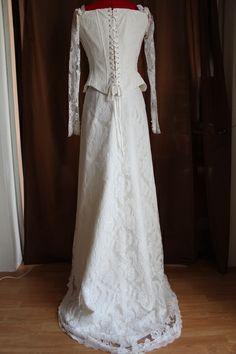 Robe de mariée blanche vintage à Paris doccasion  Robes de mariée ...