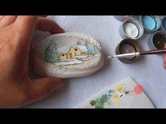 Paisagem Natalina em Sabonete (Aula 35) - YouTube