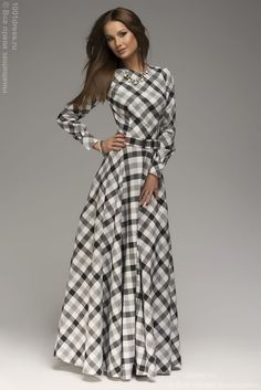 White Plaid Pleated Belt Long Sleeve Maxi Dress - same cheap site, cute for Christmas time Long Sleeve Maxi, Maxi Dress With Sleeves, Dress Skirt, Gown Dress, Plaid Dress, Long Chiffon Skirt, Chiffon Dress, Vestidos Chiffon, Mode Pop