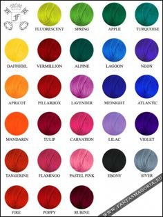 Coloring hair balsam - LaRiche Directions palette. Order your hairdye here: http://www.fantasmagoria.eu/accessories/cosmetics-makeup/hair-color/coloring-balsam