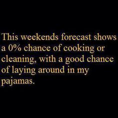 This weekends forecast shows..