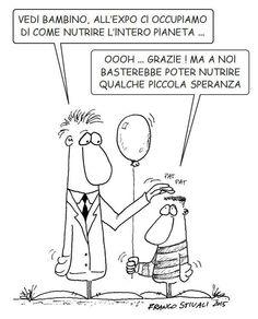 #IoSeguoItalianComics #Satira #Expo #ExpoMilano2015