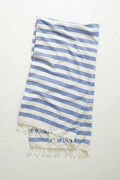 Striped Versilia Beach Towel via Anthropologie. Handy for picnics!