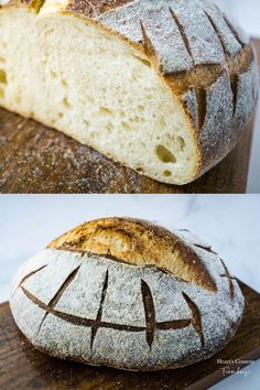 Looking for a simple sourdough recipe that uses NO yeast and yet does not take over your life? It's prepped in the bread machine, rises overnight, and yields a perfect loaf every time. Artisan Bread Recipes, Sourdough Recipes, Quick Bread Recipes, Easy Bread, Baking Recipes, Starter Recipes, Sourdough Bread Machine, Bread Machine Recipes, Best Homemade Bread Recipe