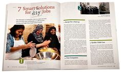 7 smart solutions for DIY Jobs http://www.yesmagazine.org/issues/new-livelihoods/7-smart-solutions-for-diy-jobs