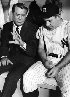 'Cary Grant and Yogi Berra Talk Sports' - Leo Fuchs