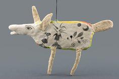 Animal Sculpture Art Object - Mr. Moon