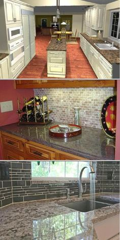 This marble and granite countertop wholesale company has over 20 years of experience and many satisfied clients. They fabricate everything from kitchen countertops, bathroom vanities and more. Open pin to view 32 photos and get a free quote.