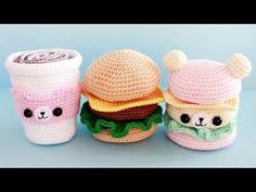 Как связать пирожное крючком ♥ Сладости амигуруми ♥ Design by Twinkie Chan - YouTube