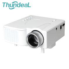 GP1 MINI Projector Home Cinema Free VGA Cable Projektor Proyector For Video Games Movie Support HDMI VGA AV USB SD