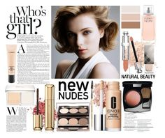 """""""Senza titolo #4258"""" by lisadcruciani ❤ liked on Polyvore featuring Christian Dior, Bobbi Brown Cosmetics, Clinique, Chanel, Guerlain, Jane Iredale, Burberry, MAC Cosmetics and Calvin Klein"""