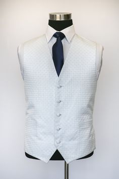 Blue Ritz Waistcoat with Navy Tie Wedding Waistcoats, Men's Style, Vest, Mens Fashion, Tie, Navy, Jackets, Collection, Dresses