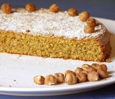 torta-di-nocciole-01 Italian Pastries, Italian Desserts, Baking Recipes, Cake Recipes, Super Torte, Torte Cake, Sweet Cakes, Vanilla Cake, Sweet Recipes