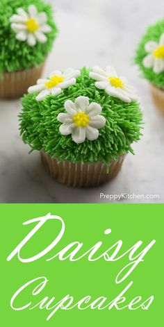 Cute and easy Spring time cupcakes! via @preppykitchen