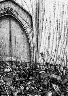 The Siege of Moria by Tulikoura.deviantart.com on @deviantART