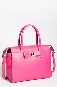 Can't go wrong with a pink kate spade new york handbag.