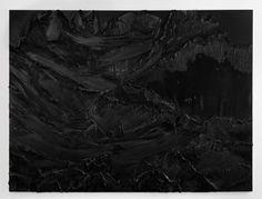 dunkel 25, 2011, 260x350 cm, oil on canvas