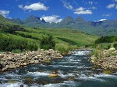 The Drakensberg Mountains, KwaZulu Natal, South Africa Places To Travel, Places To Visit, Namibia, Foto Blog, Kwazulu Natal, Africa Travel, Gaia, South Africa, Tourism