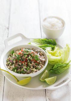 Lemongrass & chilli chicken salad