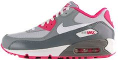 NIKE AIR MAX 90 2007 (GS) (GS) GIRLS RUNNING SHOES on Sale