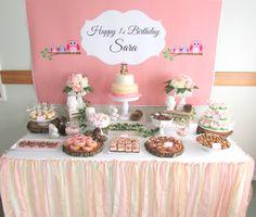 Feature dessert table