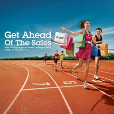 Get Ahead of the Sales Press Ad by Michael Sng Woei Shyong , via Behance Visual Advertising, Clever Advertising, Advertising Design, Creative Poster Design, Ads Creative, Creative Posters, Advertising Photography, Commercial Photography, Digital Art Photography