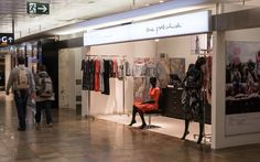 NWW and the Austrian fashion designer Eva Poleschinski (ep_anoui, Bridal & Eve) opened a new pop-up-store at the Airport in Vienna: Because fashion and furniture fit so perfectly together...