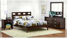 Slumberland Furniture - Riva Collection - Qn 4 Pc Room Package - Slumberland Furniture Stores and Mattress Stores