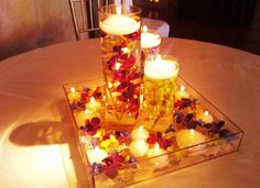 cool Quince/Wedding DIY Custom Candle Centerpieces Easy & Fun