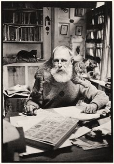 Edward Gorey is listed (or ranked) 47 on the list Cool Old Photos of Celebrities with Their Cats Edward Gorey, Men With Cats, Gatos Cats, Cat People, Crazy Cats, Artist At Work, Cool Cats, Cat Lady, Old Photos