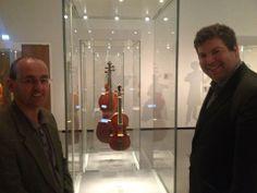 Benjamin Hebbert, Philip Brown and the tiny Fountaine Stradivari!