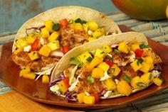 Baja Fish Tacos with Mango Salsa | Joy of Kosher
