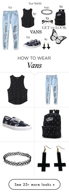 """""""Vans: $148.50"""" by kro-1 on Polyvore featuring Vans, Chicnova Fashion and GetTheLook"""