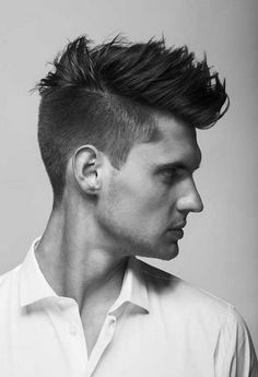I want this Combination Mens Hairstyles Cropped 2014 of Classic Pompadour and Modern Mohawk Style