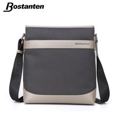 20794b9c8 Bostanten Male Handbag Waterproof Nylon Men Bag Designer Handbag High  Quality Fashion Causal ZipperMen's Shoulder Messenger