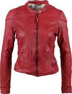 Rouge Freaky Femme 4001 Leanne Small Blouson Nation red z4Ixz1r
