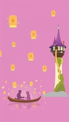 Disney Rapunzel, Disney Amor, Art Disney, Disney Magic, Disney Movies, Princess Rapunzel, Disney Phone Wallpaper, Cartoon Wallpaper, Iphone Wallpaper